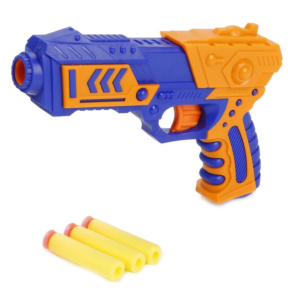 Купить Бластер с мягкими пулями на присосках, Играем вместе