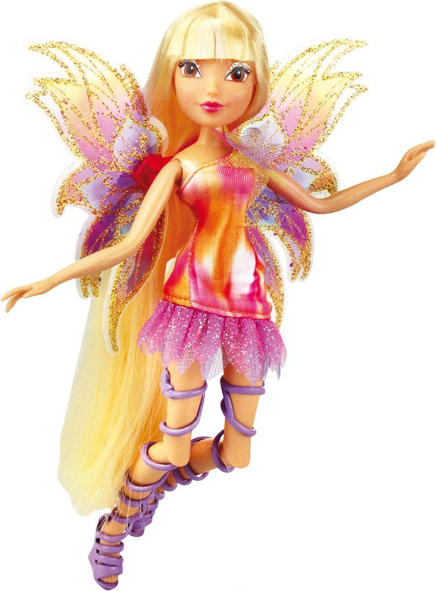 Кукла Winx Club Мификс – СтеллаКуклы Винкс (Winx)<br>Кукла Winx Club Мификс – Стелла<br>