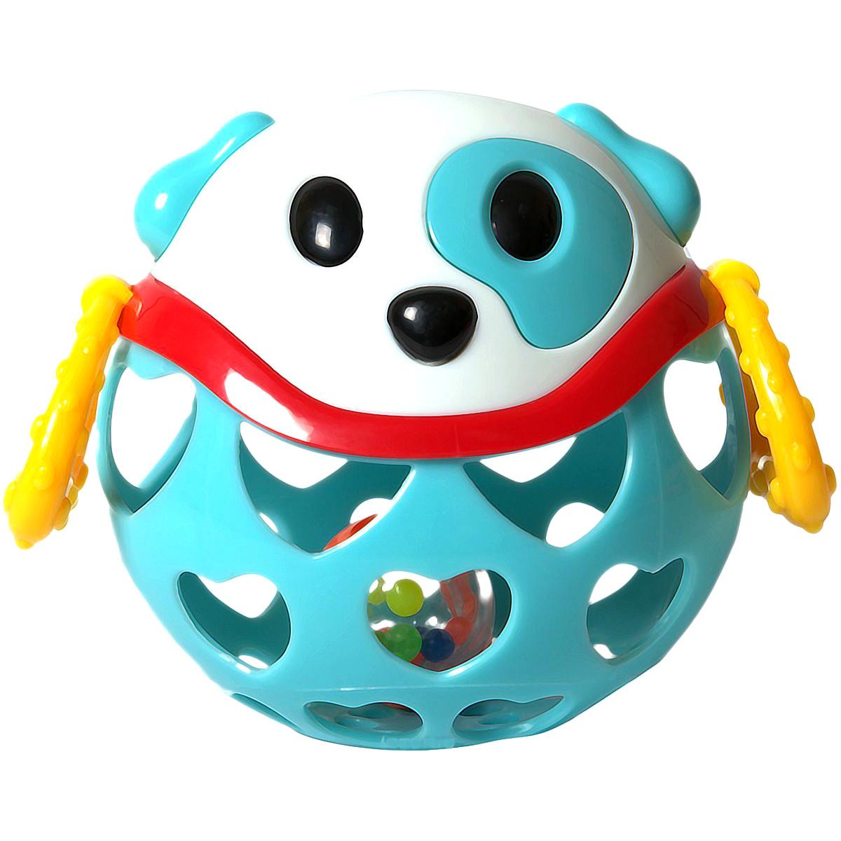 Игрушка-неразбивайка СобакаДетские погремушки и подвесные игрушки на кроватку<br>Игрушка-неразбивайка Собака<br>
