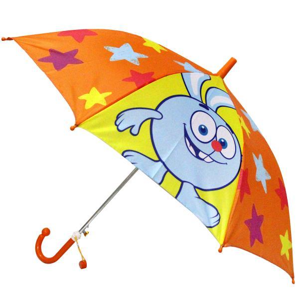 Зонт детский со свистком - Смешарики, 45 см