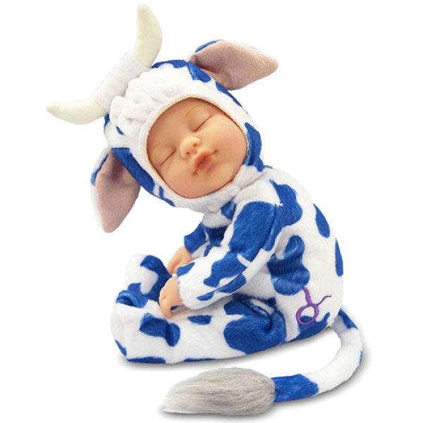 Купить Кукла-младенец из серии Знаки зодиака – Телец, 23 см., Unimax