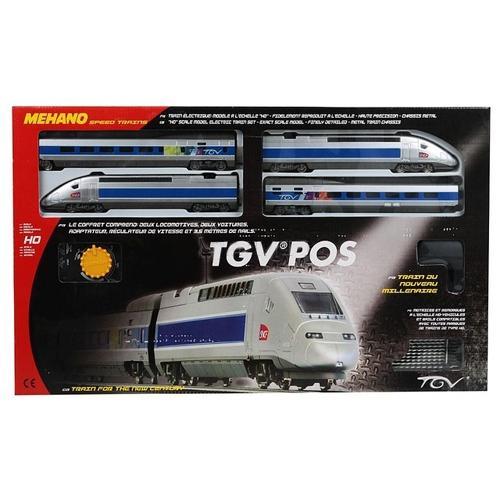 Железная дорога Mehano TGV POS, 2,85 мДетская железная дорога<br>Железная дорога Mehano TGV POS, 2,85 м<br>