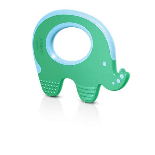 Прорезыватель для зубов - СлоникДетские погремушки и подвесные игрушки на кроватку<br>Прорезыватель для зубов - Слоник<br>