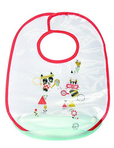 Нагрудник непромокаемый Sport из хлопка на липучке, с пластиковым кармашкомТовары для кормления<br>Нагрудник непромокаемый Sport из хлопка на липучке, с пластиковым кармашком<br>