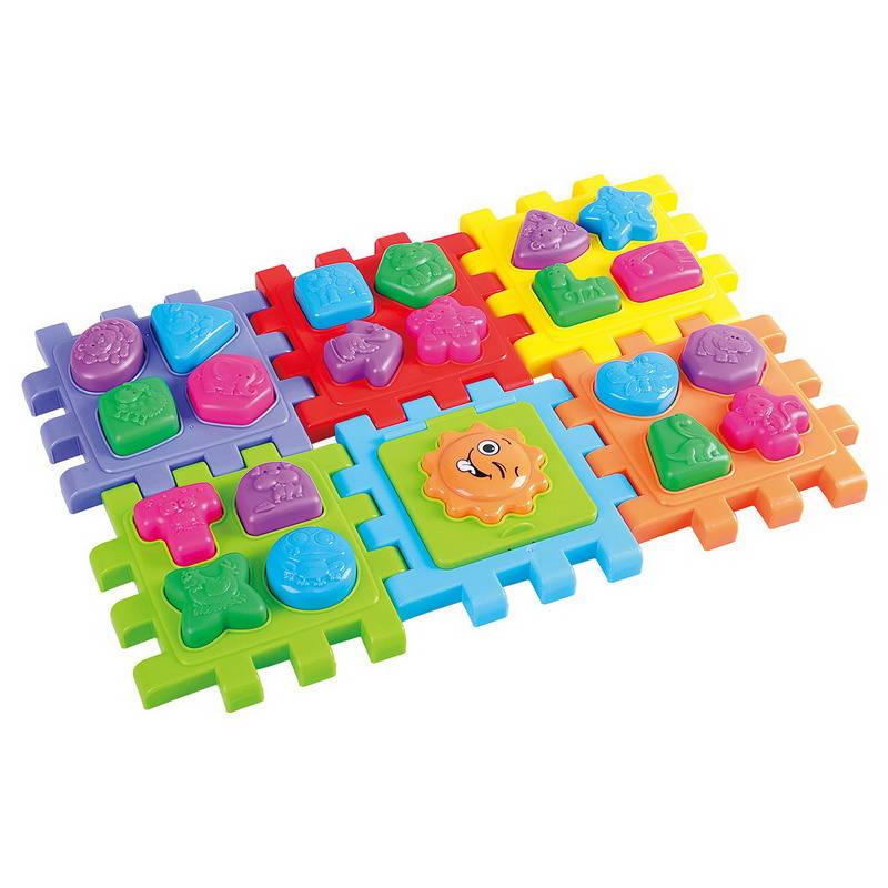 Купить Развивающая игрушка - Куб-сортер, PlayGo