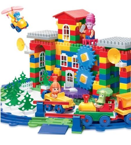 Фикси-конструктор 315 элементов - Конструкторы Bauer Кроха (для малышей), артикул: 157718