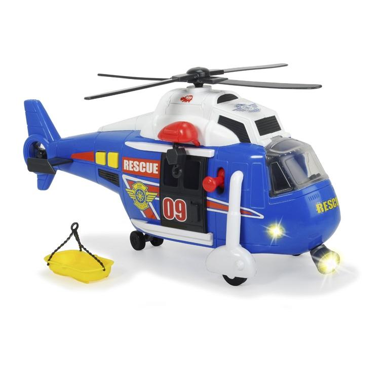 Вертолет функциональный, 41 см., свет, звук, свободный ходВертолеты<br>Вертолет функциональный, 41 см., свет, звук, свободный ход<br>