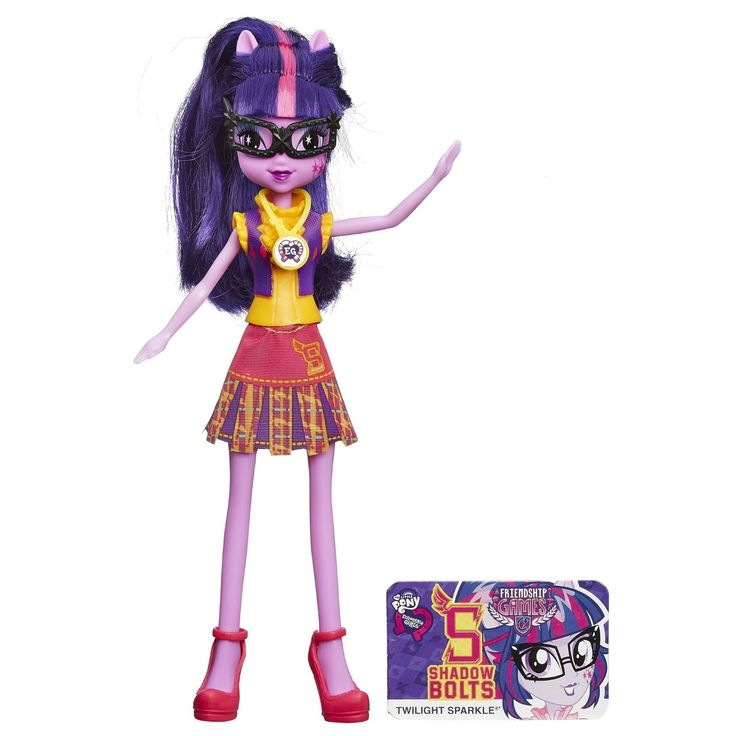 Кукла из серии Девушки Эквестрии School Spirit - Твайлайт СпарклКуклы Девушки Эквестрии (Equestria Girls)<br>Кукла из серии Девушки Эквестрии School Spirit - Твайлайт Спаркл<br>