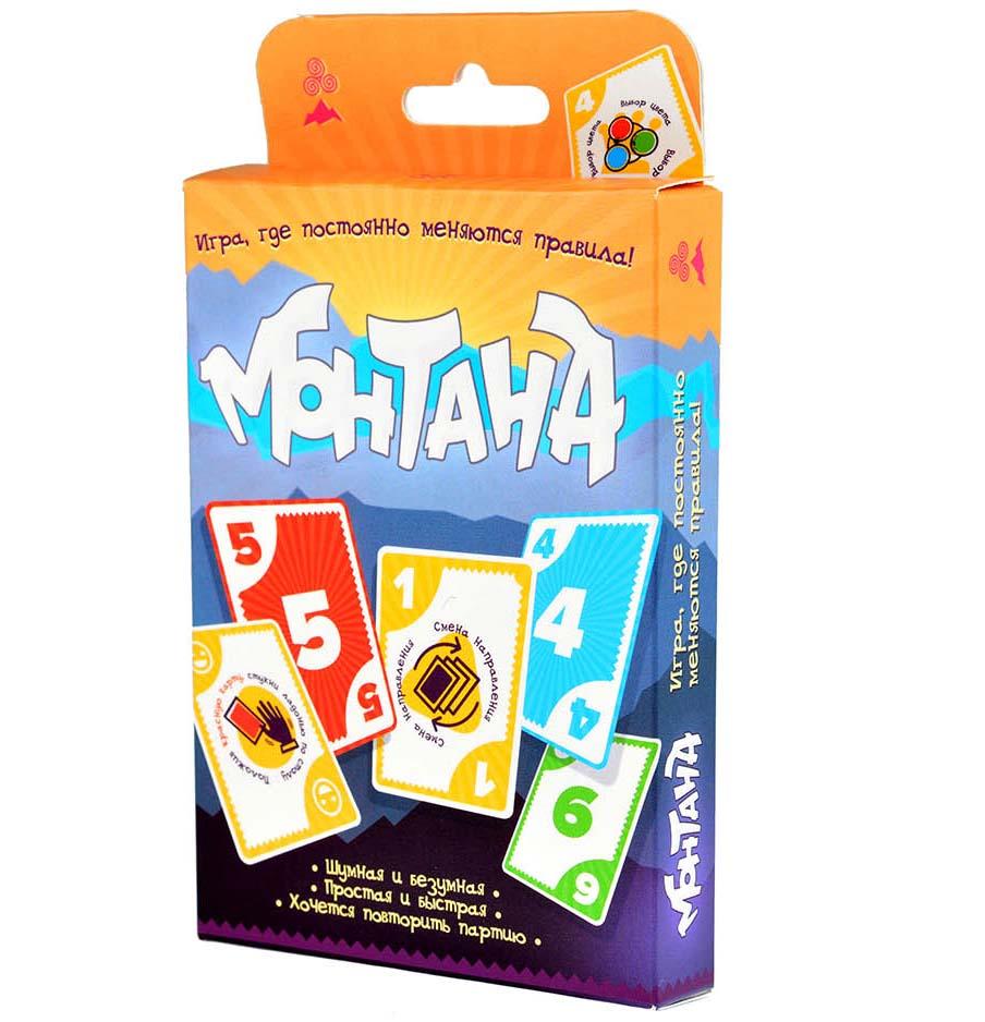 Настольная игра - МонтанаИгры для компаний<br>Настольная игра - Монтана<br>
