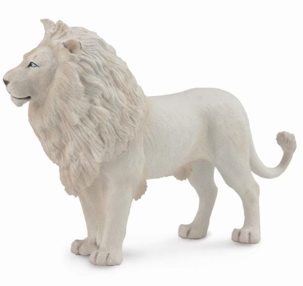 Фигурка Gulliver Collecta - Лев белый, размер LДикая природа (Wildlife)<br>Фигурка Gulliver Collecta - Лев белый, размер L<br>