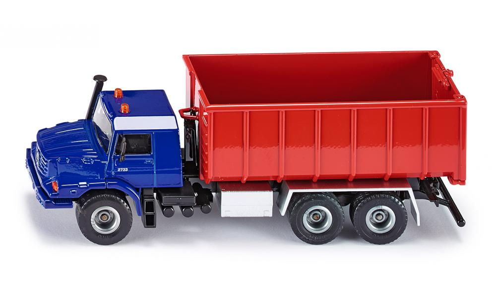 Купить Модель грузовика Мерседес Бенц Цетрос, 1:50, Siku
