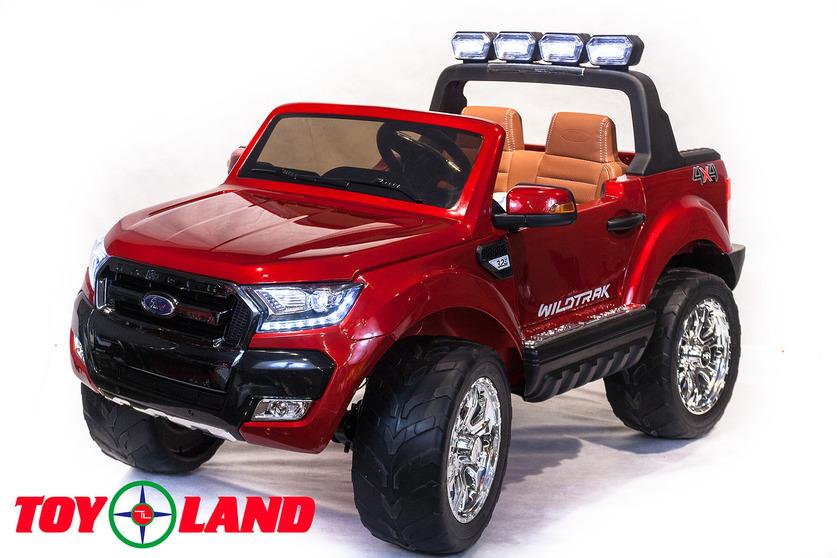 Электромобиль Ford Ranger 2017 NEW 4X4, красного цветаЭлектромобили, детские машины на аккумуляторе<br>Электромобиль Ford Ranger 2017 NEW 4X4, красного цвета<br>