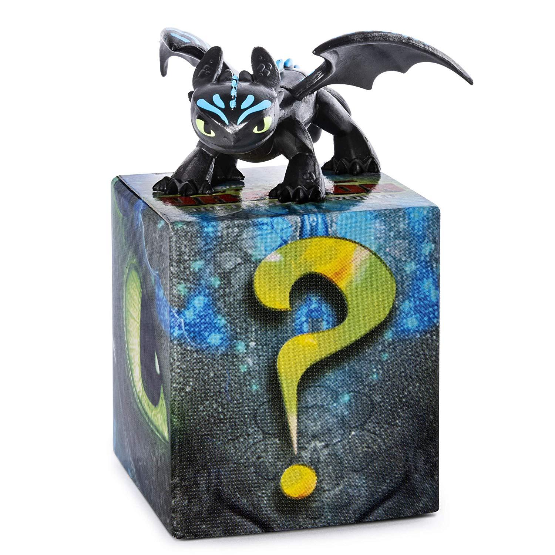Купить Набор из 2 коллекционных фигурок Как приручить дракона-3 - Беззубик, 5 см, Spin Master