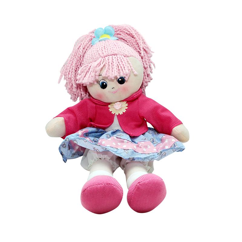 Кукла Земляничка, 30 см.Мягкие куклы<br>Кукла Земляничка, 30 см.<br>