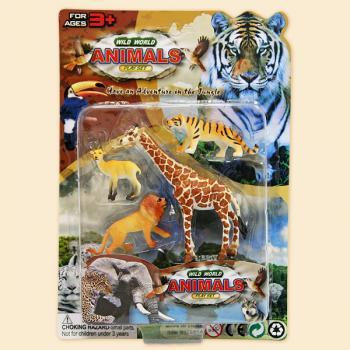 Набор - Дикие животные, 4 штукиДикая природа (Wildlife)<br>Набор - Дикие животные, 4 штуки<br>