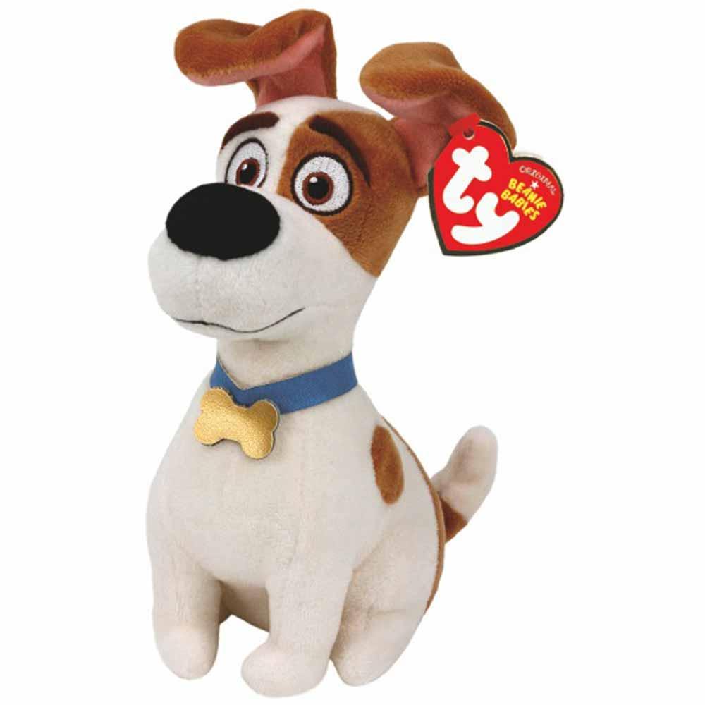 TY Мягкая игрушка - Тайная жизнь домашних животных - терьер Макс