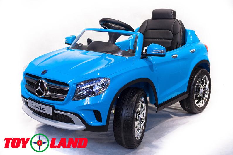 Электромобиль – Mercedes-Benz GLA R653, синий, свет и звукЭлектромобили, детские машины на аккумуляторе<br>Электромобиль – Mercedes-Benz GLA R653, синий, свет и звук<br>