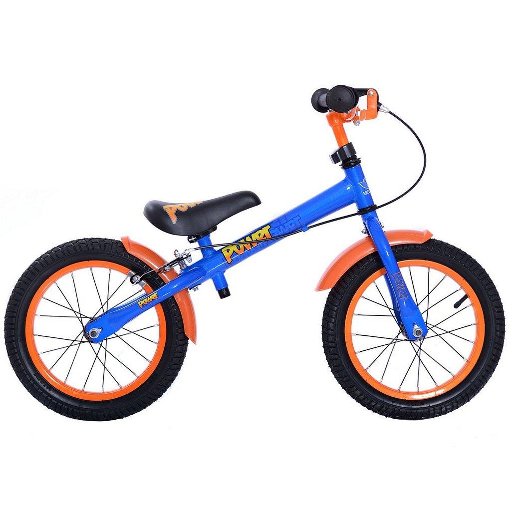 Купить Беговел с колесами 14 Velolider Power 166606, цвет синий