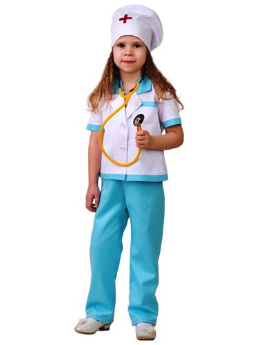 Купить Карнавальный костюм из серии Профессии – Медсестра-2, размер 134-68, Батик