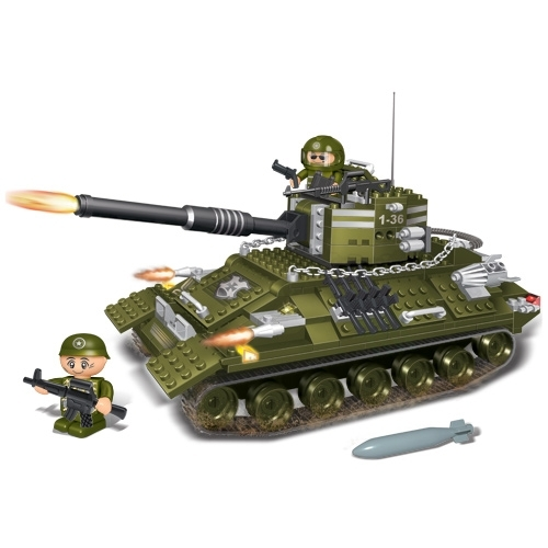 Конструктор Танк - Конструкторы BANBAO, артикул: 98222
