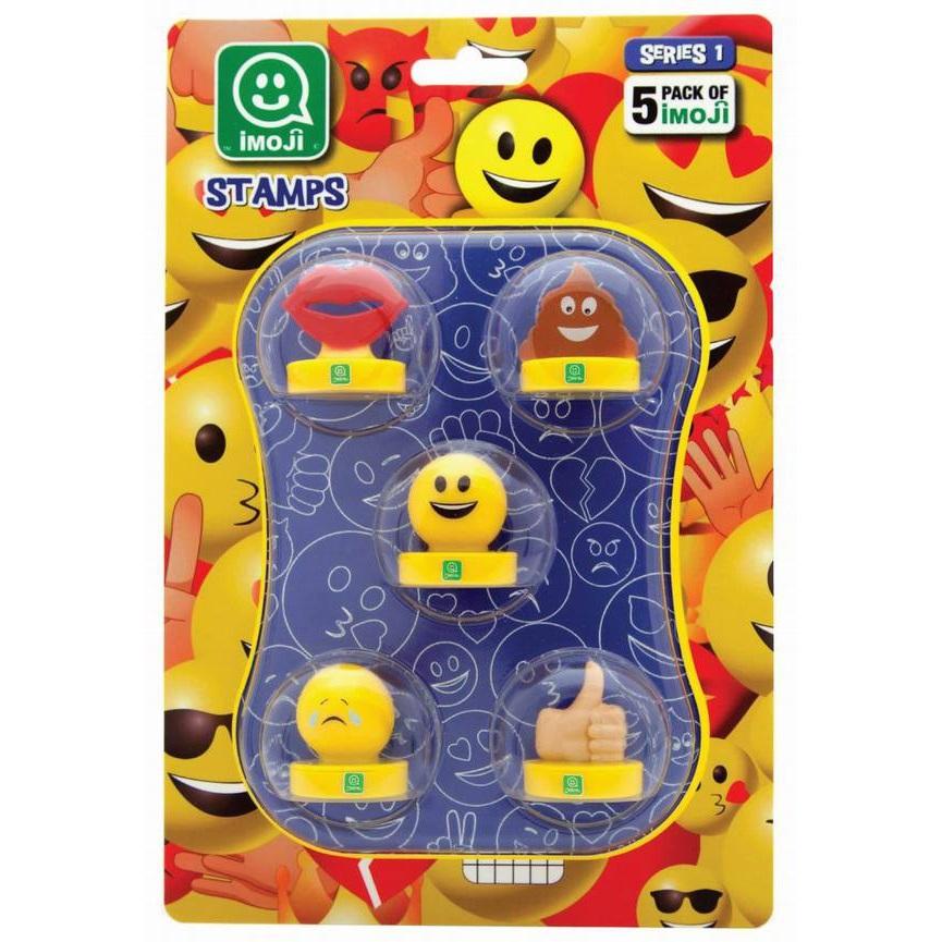 Печати Imoji, 5 шт. в наборе, серия 1, 36 видовШтампики<br>Печати Imoji, 5 шт. в наборе, серия 1, 36 видов<br>