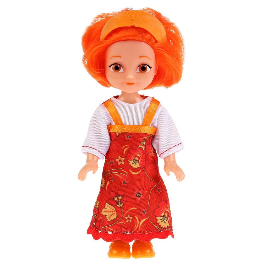 Кукла Царевны – Варвара, 15 см, Карапуз  - купить со скидкой
