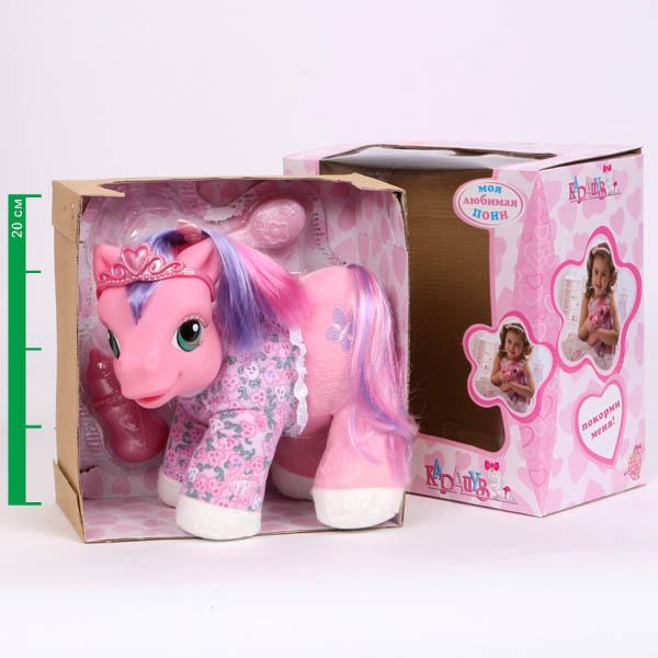 Любимая Пони 3 функции, пьет из бутылочки sim)Моя маленькая пони (My Little Pony)<br>Любимая Пони 3 функции, пьет из бутылочки sim)<br>