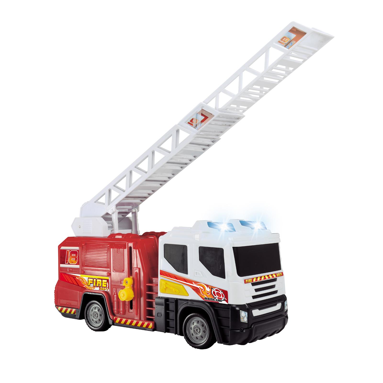 Пожарная машина со светом и звуком, 30 см.Пожарная техника, машины<br>Пожарная машина со светом и звуком, 30 см.<br>