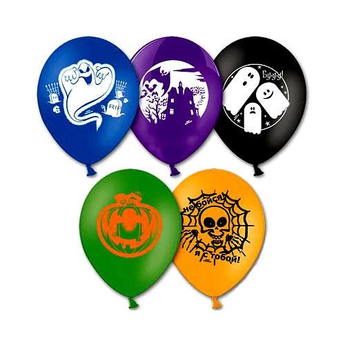 Набор шаров – Страшилки, 30 смВоздушные шары<br>Набор шаров – Страшилки, 30 см<br>