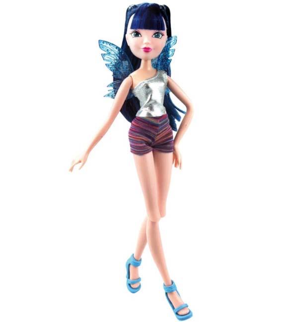 Кукла Winx Club из серии Рок-н-ролл – Муза  - купить со скидкой