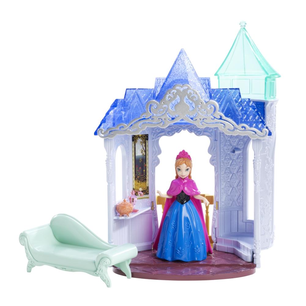 Игровой набор - Анна в замке с мини-куклой, 10 смКуклы холодное сердце<br>Игровой набор - Анна в замке с мини-куклой, 10 см<br>
