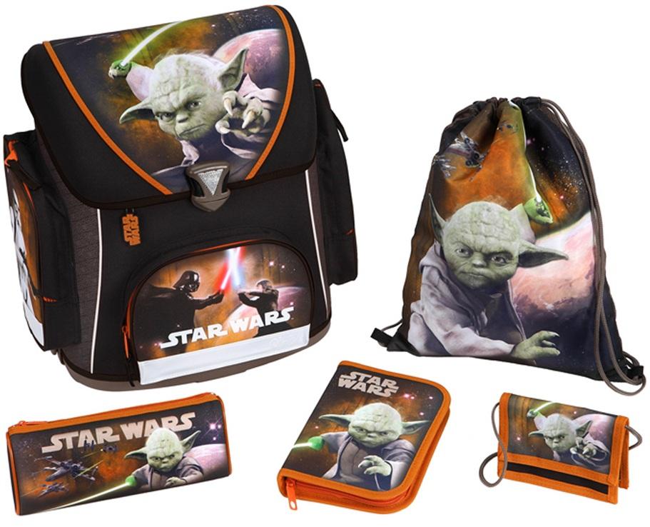 Scooli ранец с наполнением Star WarsШкольные рюкзаки<br>Scooli ранец с наполнением Star Wars<br>