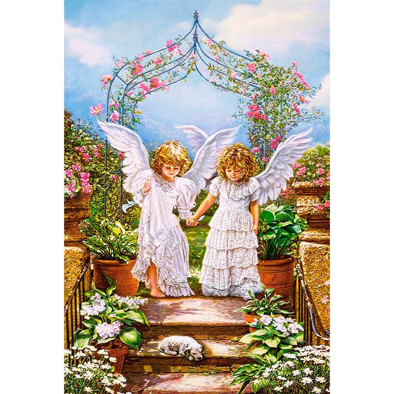 Пазл Друзья-ангелы, 1000 элементовПазлы 1000 элементов<br><br>