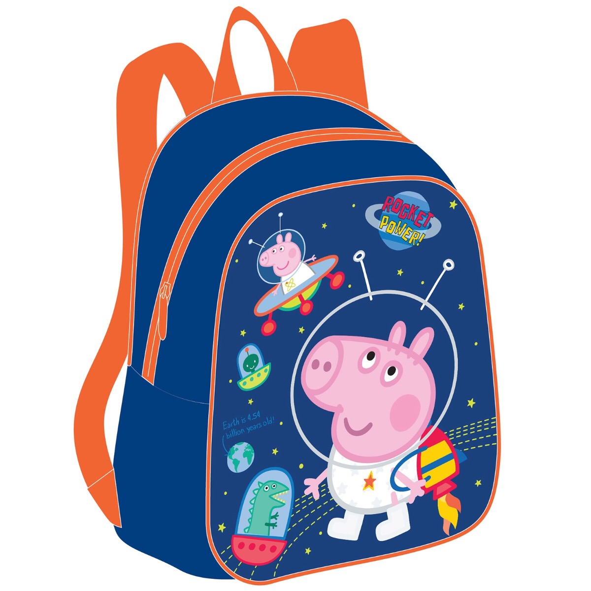 Рюкзачок малый из серии Свинка Пеппа с портретом Джорджа - Свинка Пеппа (Peppa Pig ), артикул: 161606