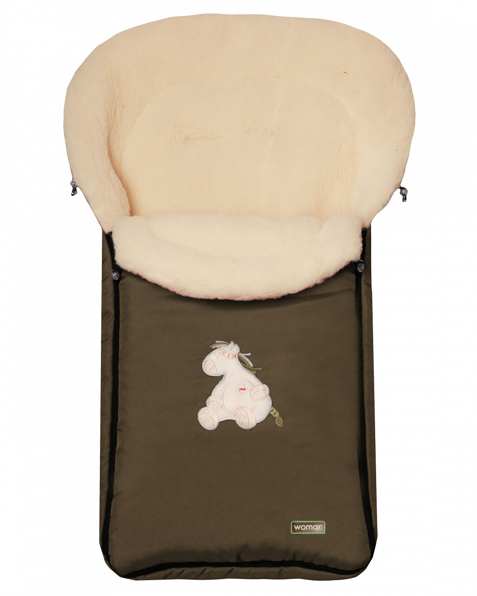 Спальный мешок в коляску №06 - Aurora, хаки