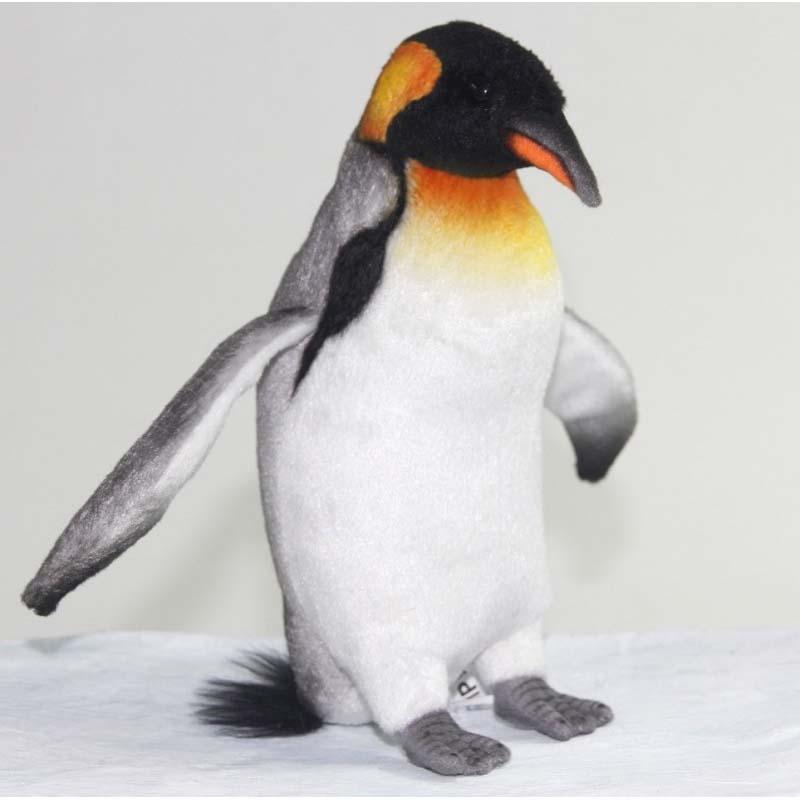 Мягкая игрушка - Королевский пингвин, 22 см.Дикие животные<br>Мягкая игрушка - Королевский пингвин, 22 см.<br>