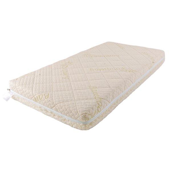 Купить Детский матрас класса Люкс BabySleep BioLatex Bamboo, размер 120 х 60 см