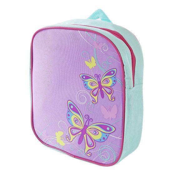 Рюкзак Бабочки, 24 х 8 х 27 см.Детские рюкзаки<br>Рюкзак Бабочки, 24 х 8 х 27 см.<br>