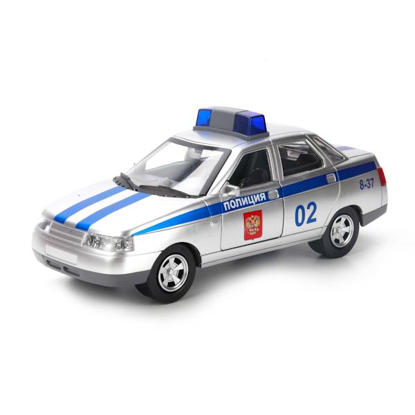 Инерционная машина LADA 110 -  Полиция, свет, звукПолицейские машины<br>Инерционная машина LADA 110 -  Полиция, свет, звук<br>