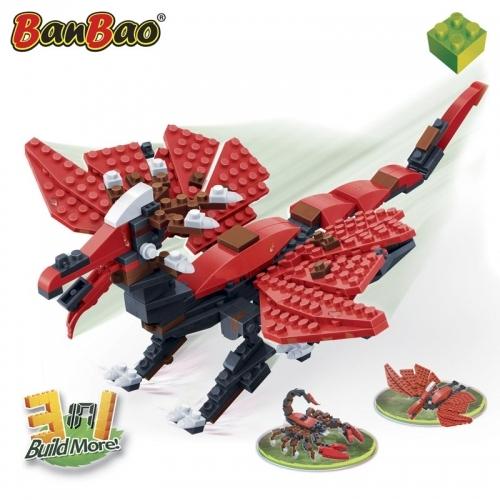 Купить Конструктор Динозавр: 3 в 1, 289 деталей, BanBao