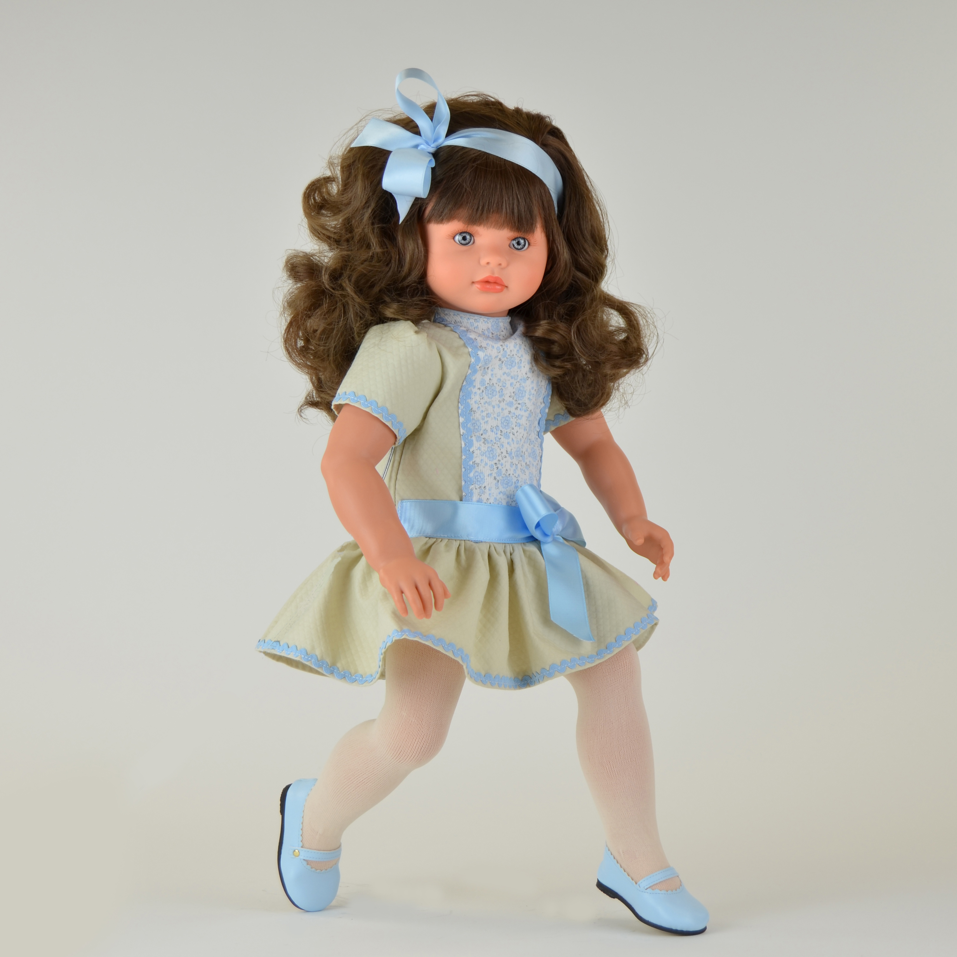 Кукла Пепа с атласным бантиком, 60 см.Куклы ASI (Испания)<br>Кукла Пепа с атласным бантиком, 60 см.<br>