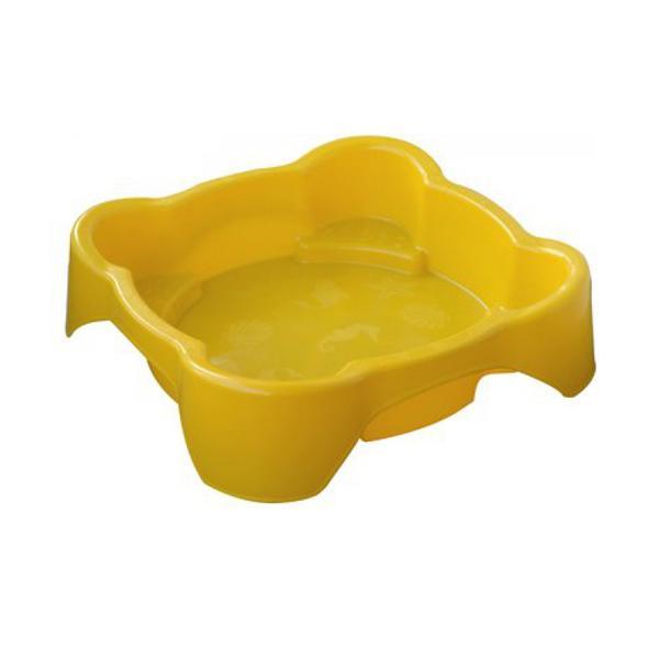 Детская пластиковая песочница мини-бассейн Marian Plast 374, квадратная