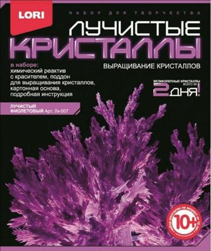 Набор для экспериментов - Лучистые кристаллы - Фиолетовый кристаллКристаллы<br>Набор для экспериментов - Лучистые кристаллы - Фиолетовый кристалл<br>