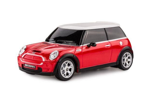 картинка Машина р/у Minicoop, цвет красный, масштаб 1:24, 27MHZ от магазина Bebikam.ru