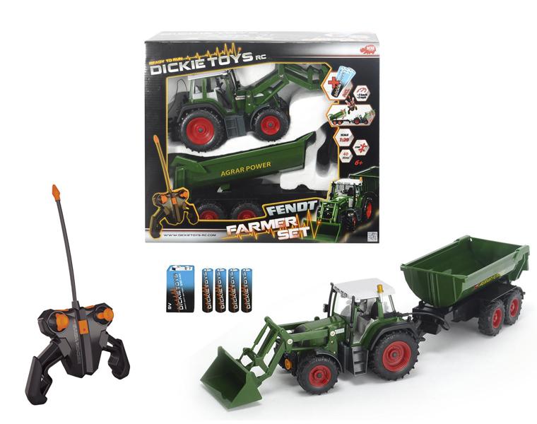 Трактор с прицепом на РУ, 3-х канальный, 60 см, 3 км/чСпецтехника: бульдозеры, экскаваторы<br>Трактор с прицепом на РУ, 3-х канальный, 60 см, 3 км/ч<br>