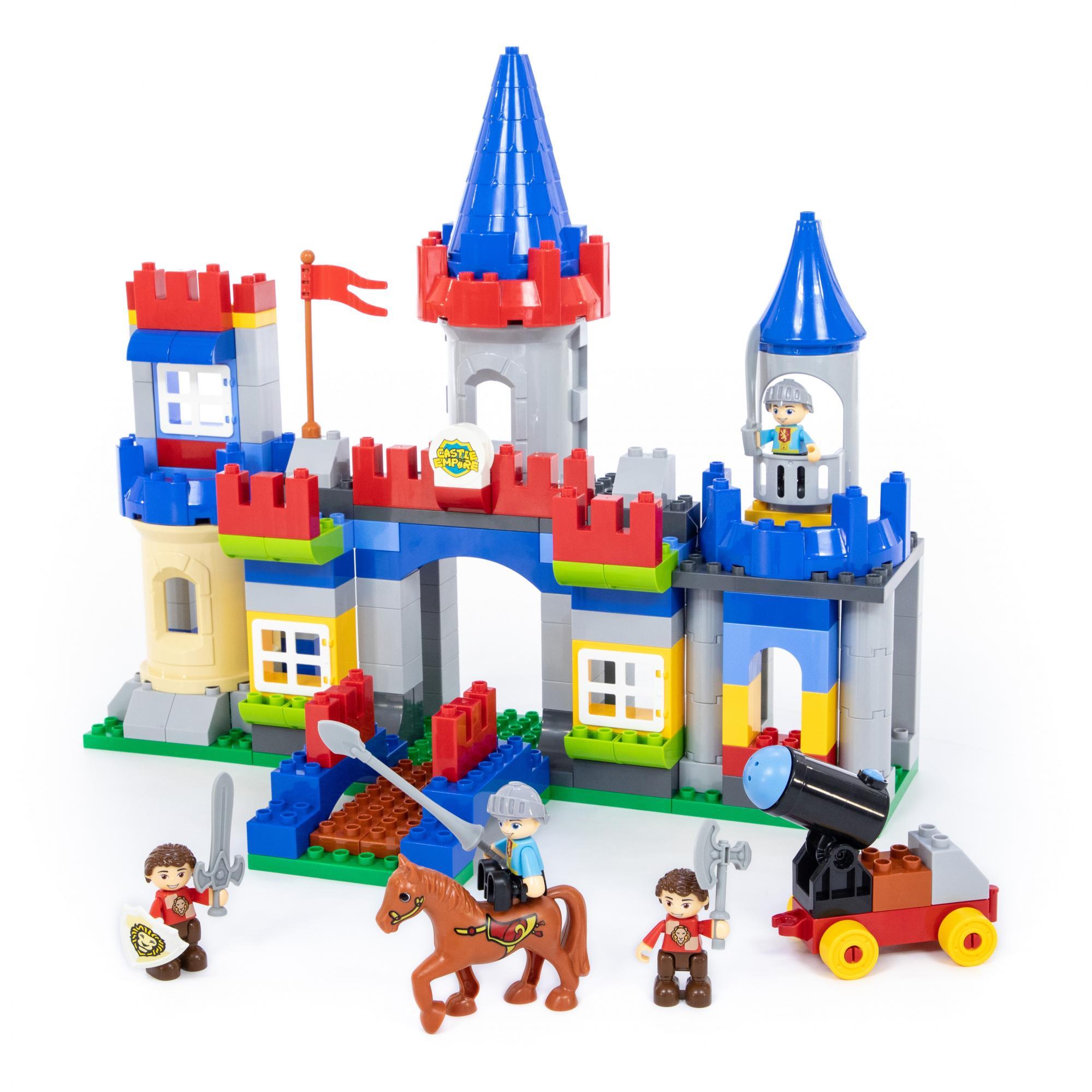 Купить Конструктор Макси – Замок, 169 элементов, Полесье