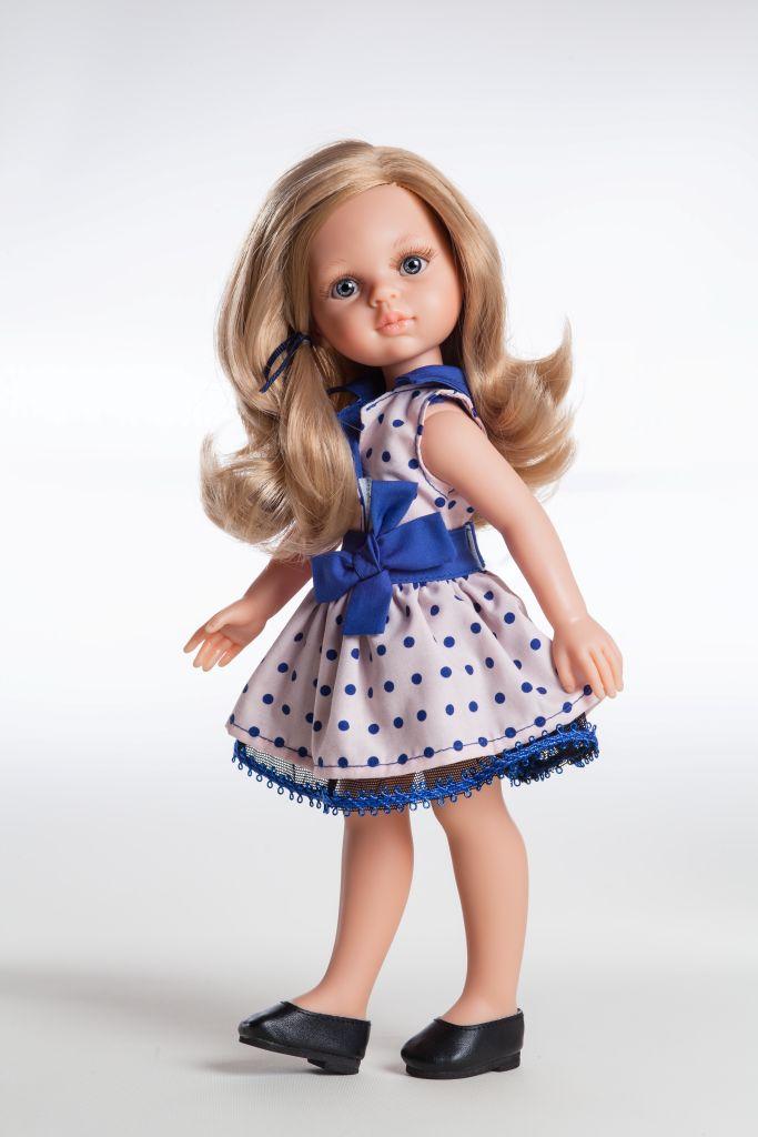 Кукла Карла, 32 см.Испанские куклы Paola Reina (Паола Рейна)<br>Кукла Карла, 32 см.<br>