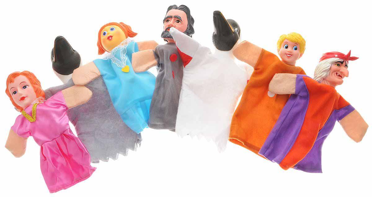 Кукольный театр – Гуси-лебеди, 7 куколДетский кукольный театр <br>Кукольный театр – Гуси-лебеди, 7 кукол<br>
