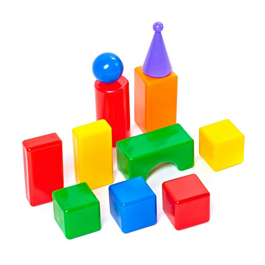 Строительный набор - Стена-2, 11 элементовКубики<br>Строительный набор - Стена-2, 11 элементов<br>