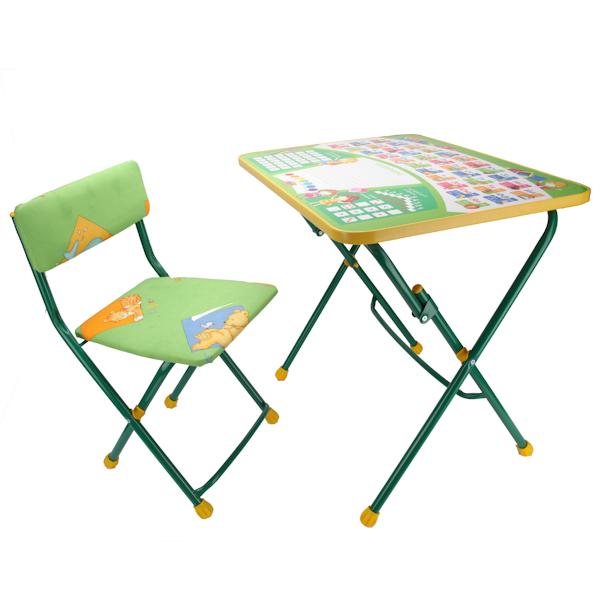 Набор детской мебели - Первоклашка, цвет зеленыйПарты<br>Набор детской мебели - Первоклашка, цвет зеленый<br>